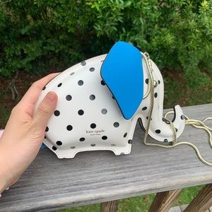 kate spade Bags - NWT kate spade tiny cabana dot elephant bag
